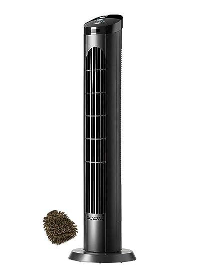 Amazon com: Cascade Oscillating Tower Fan Remote, 40