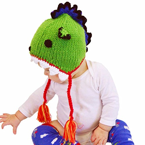 Dragon Knit Beanie (Huggalugs Baby and Toddler Dragon Beanie Hat Medium)