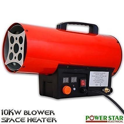 10kw Gas Portátil TALLER comercial Obligado Licuado de petróleo (LPG) Industrial Calentador Calefacción