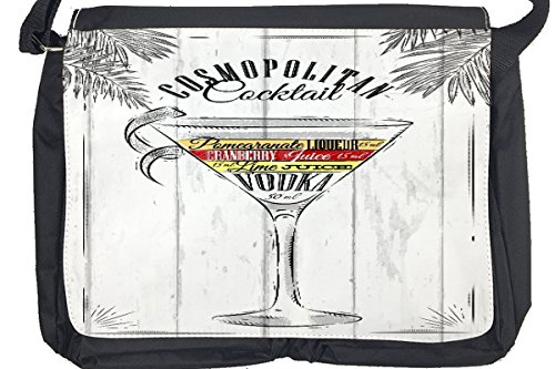 Borsa Tracolla Bar Party Cocktail cosmopolita Stampato