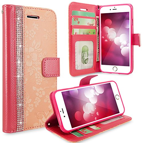 iPhone Cellularvilla Diamond Protective Leather