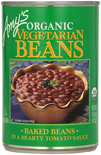 Organic Vegetarian Baked Beans by Amy's Kitchen, 15 oz
