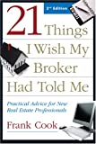 21 Things I Wish My Broker Had Told Me, Frank Cook, 1427750602