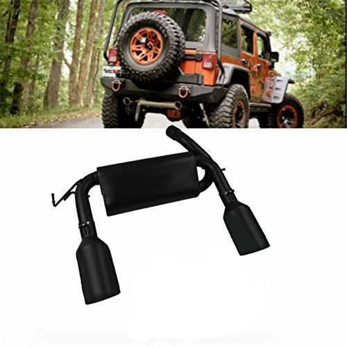 Primecooling All Stainless Steel Axle-Back / Cat-Back Exhaust System Muffler Pipe for Jeep Wrangler (Jeep Wrangler Exhaust System)
