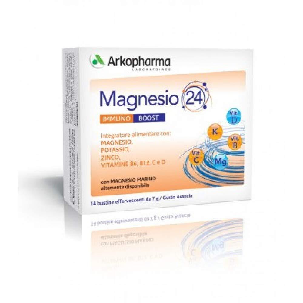 Arkopharma Magnesio 24 bucal Suplemento Alimentos 14 sobres: Amazon.es: Salud y cuidado personal