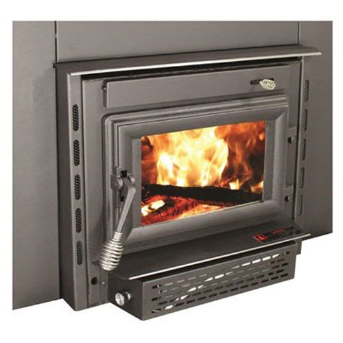 Wood Burning Fireplace Insert With Blower