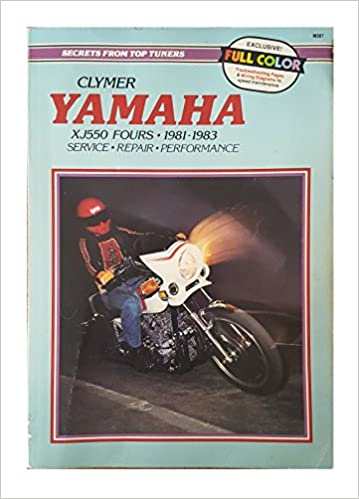 clymer yamaha (xj550 fours 1981-1983: service- repair- performance): ron  wright, sydnie a  wayson: amazon com: books