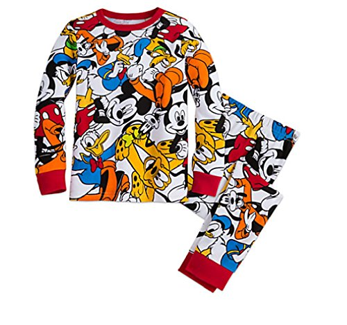 Mickey Mouse and Friends PJ Pals - Long Sleeve and Long Pant Set (8)