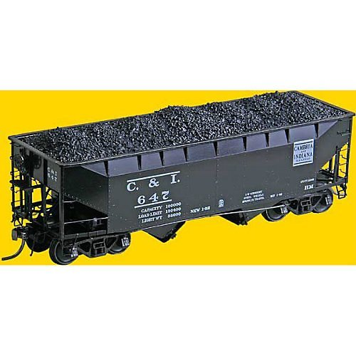 HO PS-2 2-Bay Covered Hopper, C&I #647 for sale  Delivered anywhere in USA