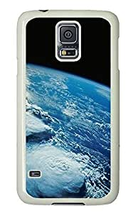 Samsung S5 case customize covers Earth 3 PC White Custom Samsung Galaxy S5 Case Cover