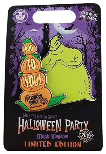 Disney Pin - 2019 MNSSHP - Boo to You Slider - Oogie Boogie