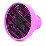 BryanMarvel Hair Dryer Silicone Folding Diffuser (Purple)