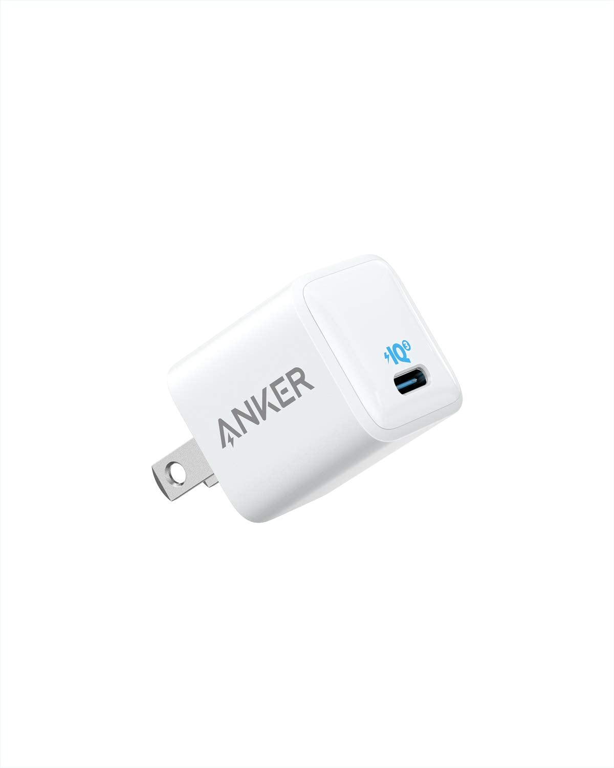 USB C Charger, Anker 18W PIQ 3.0 Compact Fast Charger Adapter, PowerPort III Nano USB C Wall