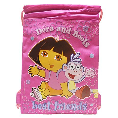(Dora Drawstring Bag - Hot)