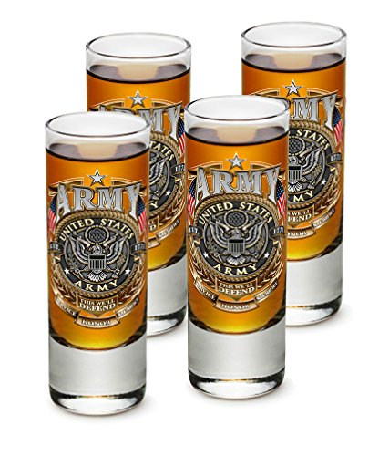 SET OF 4 Army This We'll Defend Service Honor Sacrifice 2OZ