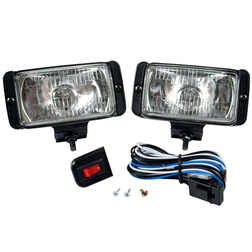 Blazer DF1073KB Rectangular Driving Light - Lights Driving Plastic Housing