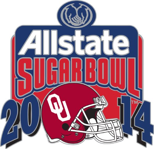 NCAA Oklahoma Sooners 2014 Sugar Bowl Champion Team Pin - Oklahoma Sooners Lapel Pins