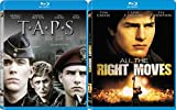 Tom Cruise Classic Drama Collection - TAPS + All The Right Moves 2-Movie Bundle Double Feature