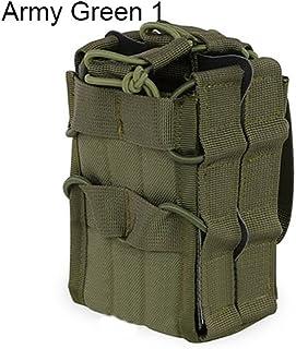 Sukisuki extérieur portable tactique Sac simple empilement double Fusil Magazine Pouch camouflage 1