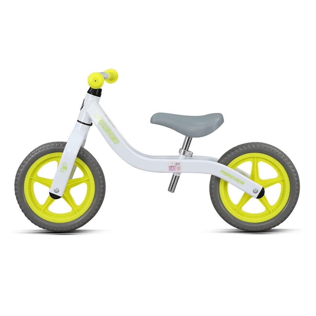 【激安】 ベビースクータースライディングカーチャイルドウォーカーノーペダル自転車キッズおもちゃダブルホイール2-6歳 B07FZ2LWQZ B07FZ2LWQZ Yellow Yellow Yellow Yellow, オワセシ:f4ef27cd --- a0267596.xsph.ru