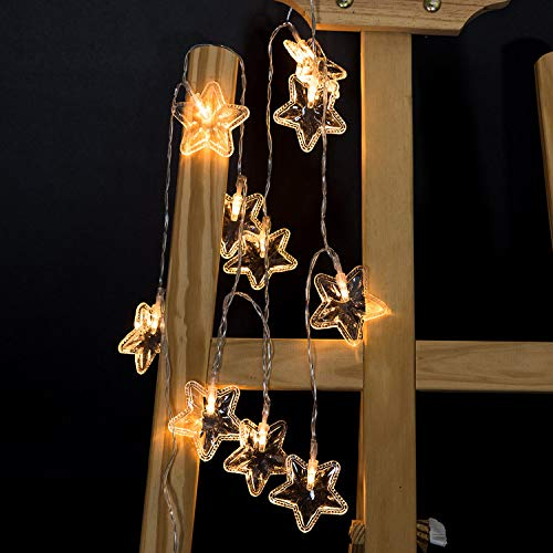 Iulove Star Light String Hanging Tree Festival Decoration Light 10LED