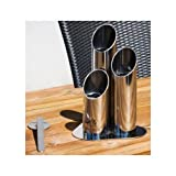 Pipes Mini Ethanol Tabletop Torch Fireplace