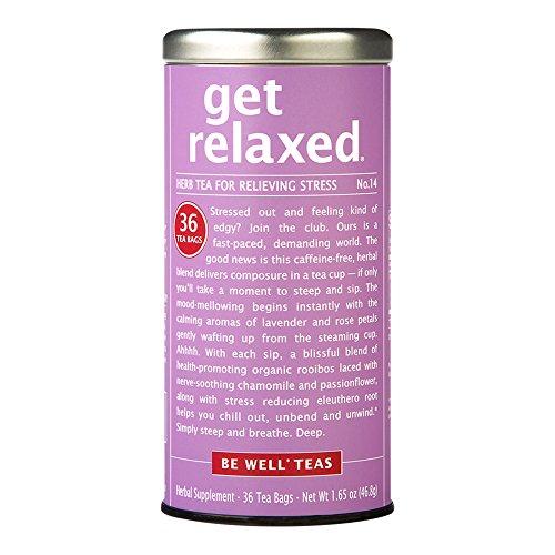 The Republic of Tea, Get Relaxed Tea, 36-Count (Rose Petal Tea Republic Of Tea)