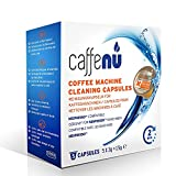 """Caffenu Nespresso Coffee Machine Cleaning Capsules, Pack of 5 """"The coffee color dirt is visible to the eye."""" With a scald cleaner, you can remove the oxidation dirt of coffee that will not fall."""