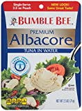 Bumble Bee Premium Albacore Tuna in Water, 2.5 Ounce (Pack of 12)