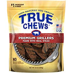True Chews Premium Grillers Made with Real Steak 20 oz