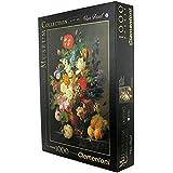 1000ピース ジグソーパズル Clementoni 花瓶 van Dael: Bowl of Flowers 48×68cm 31415