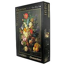 Clementoni Bowl of Flowers 1000 Piece Jigsaw Puzzle