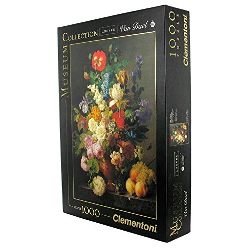 Clementoni Bowl of Flowers 1000 Piece Jigsaw Puzzle -