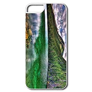 For Ipod Touch 5 Cover Case, Island White/black Protector For Ipod Touch 5 Cover