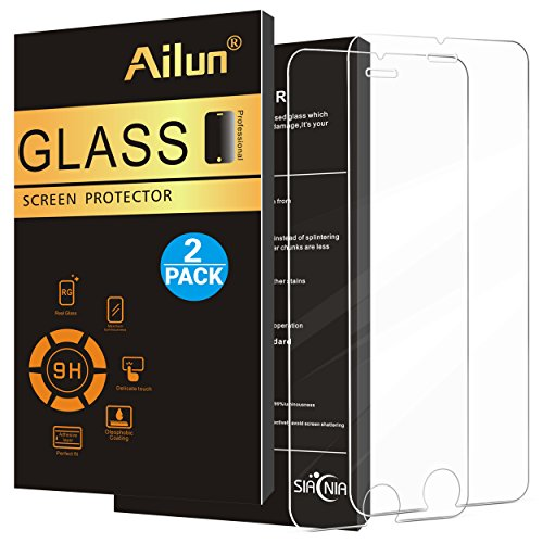 Ailun Screen Protector for iPhone 8 7 6s 6 [2Pack],2.5D Edge Tempered...