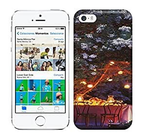 Best Power(Tm) HD Colorful Painted Watercolor Beautiful Summer Night Hard Phone Case For Iphone 5/5S