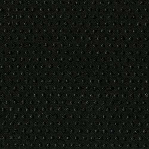 Black Jiffy Grip Grip Stop fabric for pajama feet - slippers - rugs etc. to prevent slipping 12 x 22 inch ~ BLACK - Non Skid Fabric