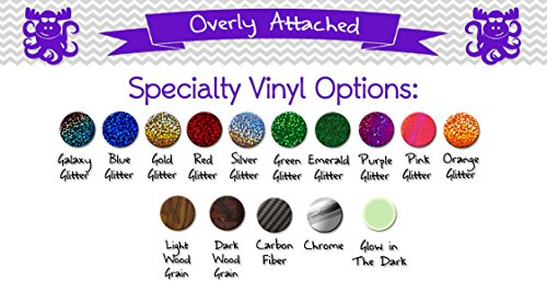 "Overly Attached Decals Mermaid with Seashell Specialty Vinyl Car Decal - 10"" Purple Metal Flake"