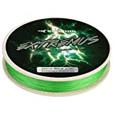 KastKing Extremus Braided Fishing Line,Grass Green,600Yds,20LB