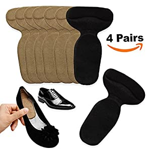Heel Cushion Inserts Grips, Best Insoles for Loose Shoes, Men & Women