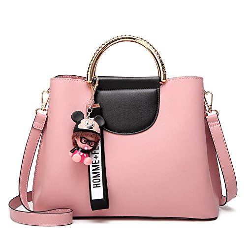 Alta Moda Borsa Spalla La Messenger Grande Capacità Pink Ladies Kyokim Corsa Più qwY4nC0