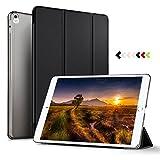 KuGi ipad pro 10.5 case, ultra-thin Semi-transparent Cover Case for Apple ipad pro 10.5 Tablet (Black)