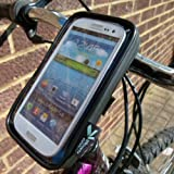 Easy Fit IPX4 Waterproof Cycle Bike Handlebar Mount for Samsung Galaxy S III SGH-i747 AT&T