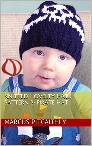 Knit Crossbones (Knitted Novelty Hats Pattern 2: Pirate Hat)