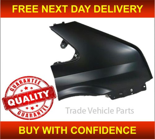 Trade Vehicle Parts FD1355 Front Wing Driver Side Right No Hole