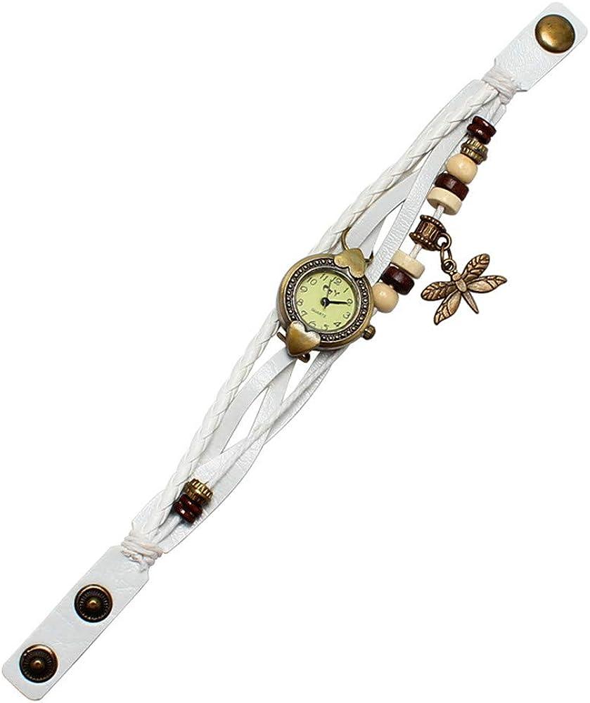 Darringls_Reloj CAY,Reloj de Pulsera de Moda para Mujeres Reloj de Dama Reloj de Pulsera Redondo Pulsera de Cuarzo analógica Relojes Mujer Deportivos