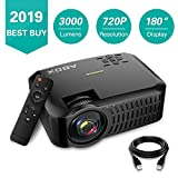 Best Projectors - 720P Projector,2019 Newest ABOX A2 Portable Home Theater Review