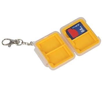 Bilora 165 De plástico Color blanco, Amarillo funda para tarjeta de memoria - fundas para tarjetas de memoria (De plástico, Color blanco, Amarillo)