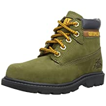 Caterpillar boys Caterpillar Boys Colorado Leather Boots Green Leather