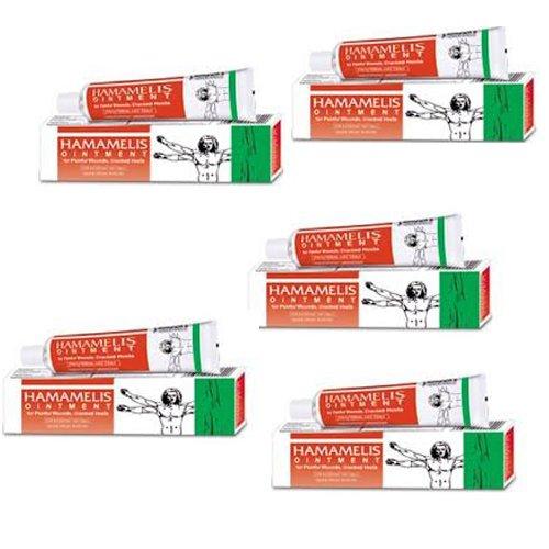 5 Lot Bakson's Homeopathy - Hamamelis Ointment Bleeding Piles.